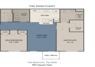The Sanctuary - Slate Run Apartments