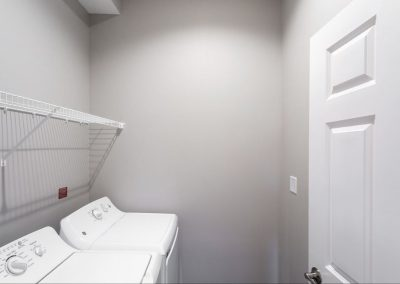 One Bedroom Laundry Room